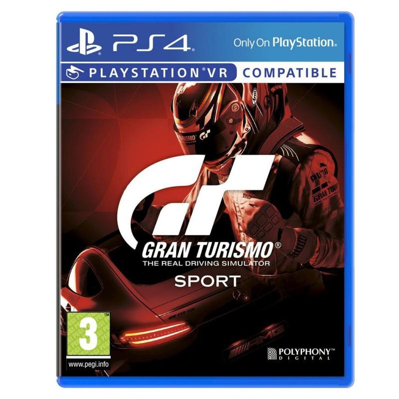 PS4 GRAN TURISMO SPORT OCC - Jeux PS4 au prix de 14,95€