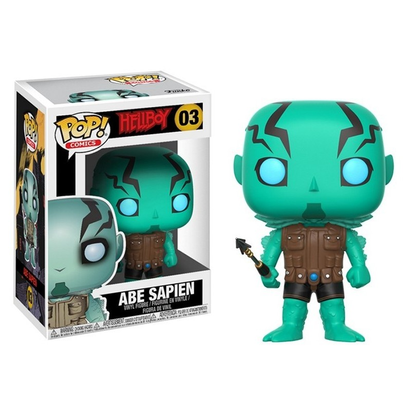 POP HELLBOY 03 ABE SAPIEN - Figurines POP au prix de 14,95 €