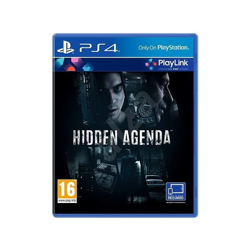 PS4 HIDDEN AGENDA OCC - Jeux PS4 au prix de 9,95€