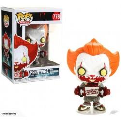 POP IT 778 PENNYWISE SKATEBOARD - Figurines POP au prix de 14,95€