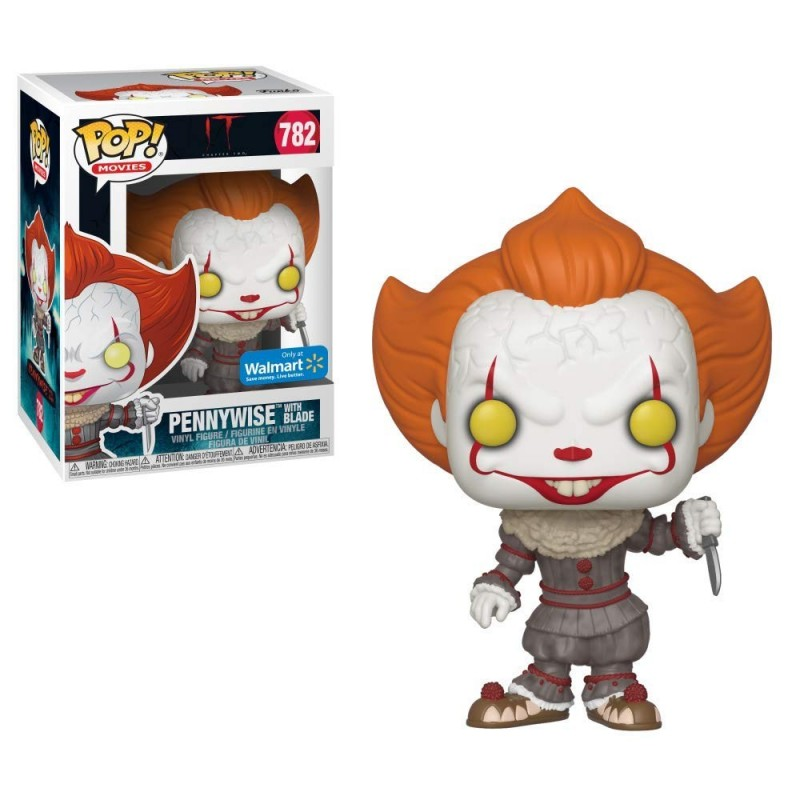 POP IT 782 PENNYWISE WITH BLADE - Figurines POP au prix de 14,95 €