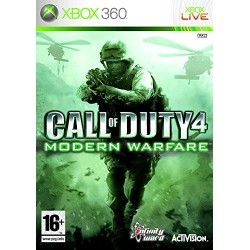 X360 CALL OF DUTY 4 MODERN WARFARE - Jeux Xbox 360 au prix de 5,95 €