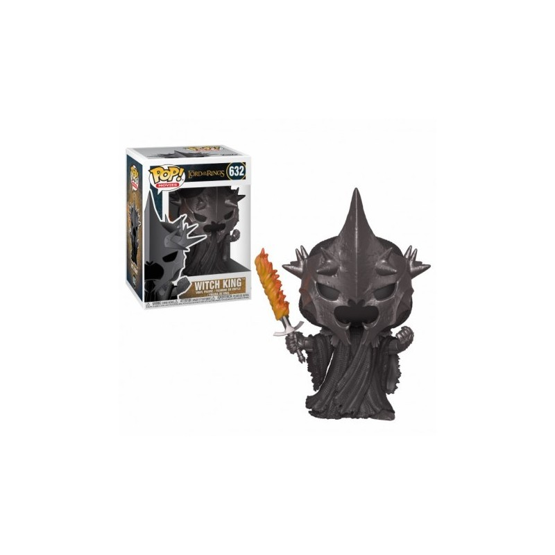 POP LORD OF THE RINGS 632 WITCH KING NAZGUL - Figurines POP au prix de 14,95€