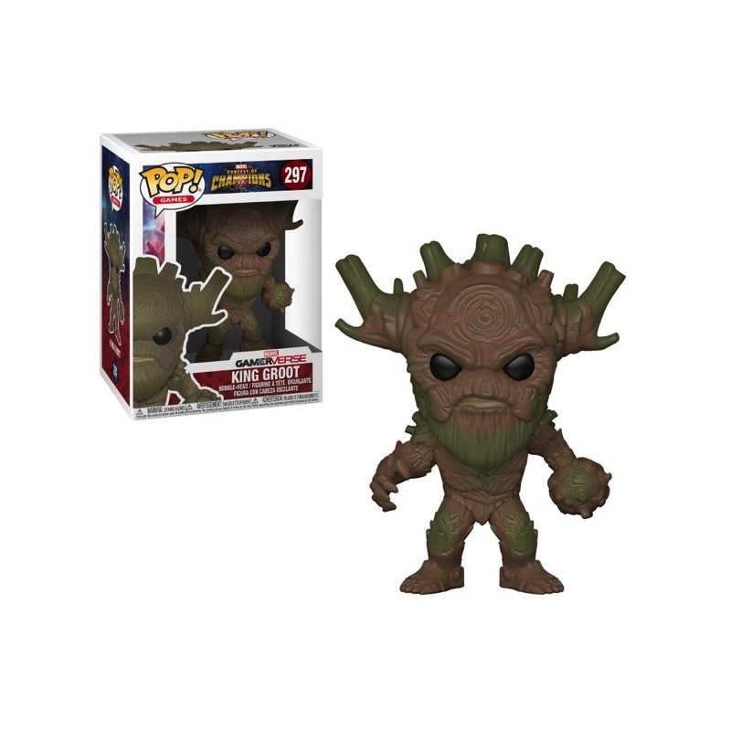 POP MARVEL 297 KING GROOT - Figurines POP au prix de 14,95 €