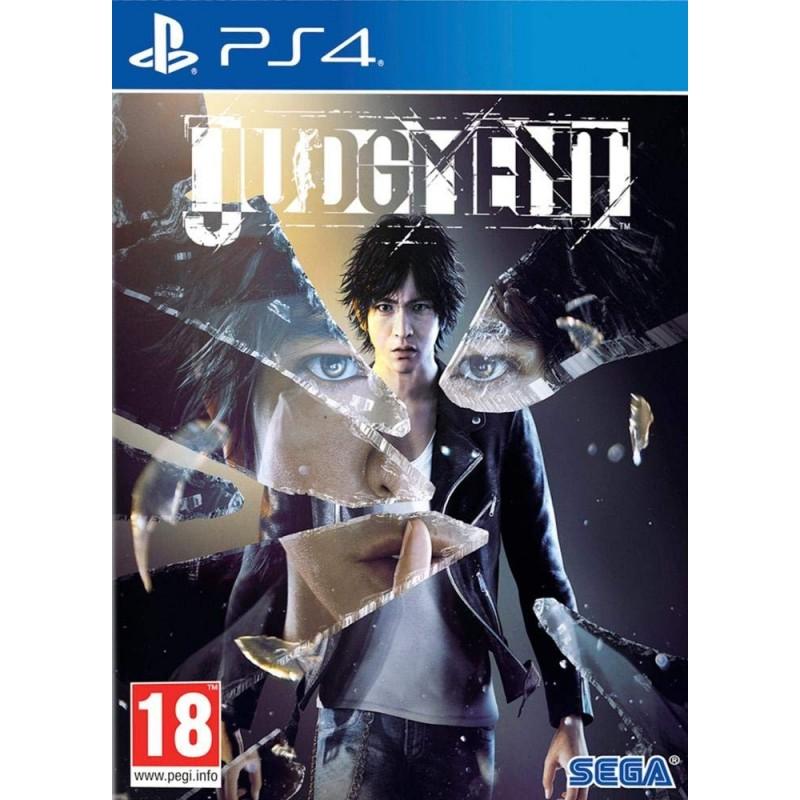 PS4 JUDGMENT - Jeux PS4 au prix de 25,00€