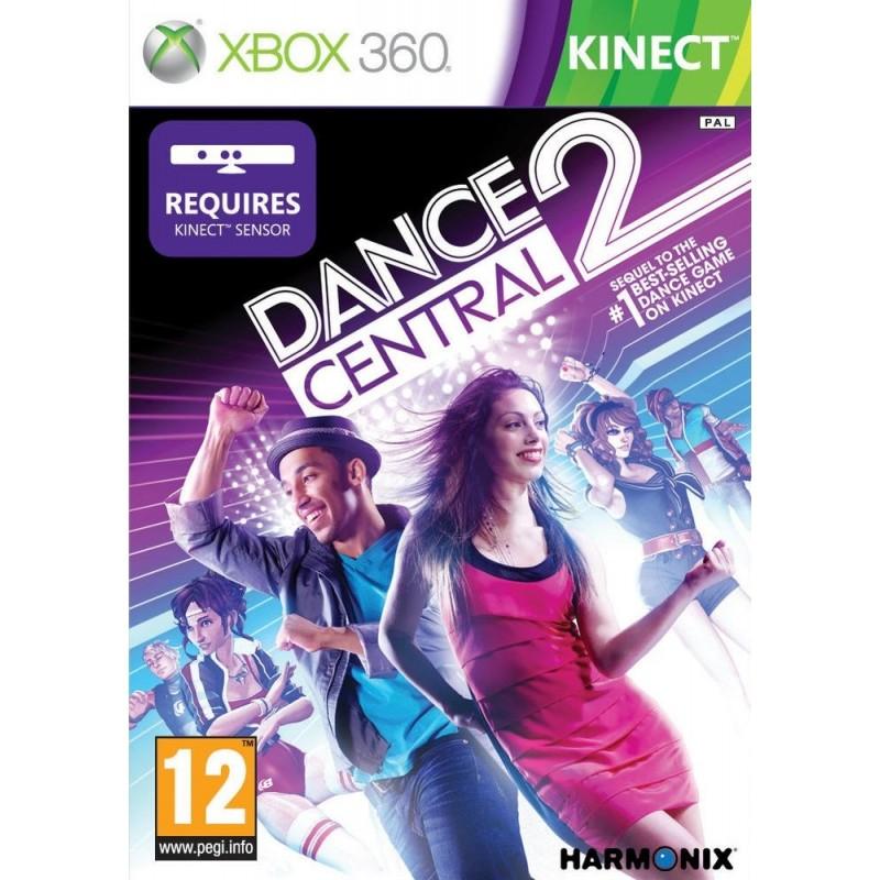 X360 KINECT DANCE CENTRAL 2 - Jeux Xbox 360 au prix de 6,95€