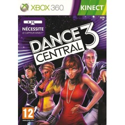 X360 KINECT DANCE CENTRAL 3 - Jeux Xbox 360 au prix de 9,95€