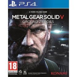 PS4 METAL GEAR SOLID GROUND ZEROES OCC - Jeux PS4 au prix de 6,95€