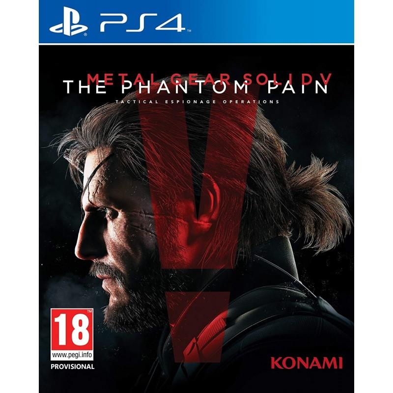 PS4 METAL GEAR SOLID V THE PHANTOM PAIN OCC - Jeux PS4 au prix de 12,95€