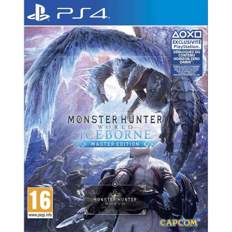 PS4 MONSTER HUNTER WORLD ICEBORNE - Jeux PS4 au prix de 59,95€