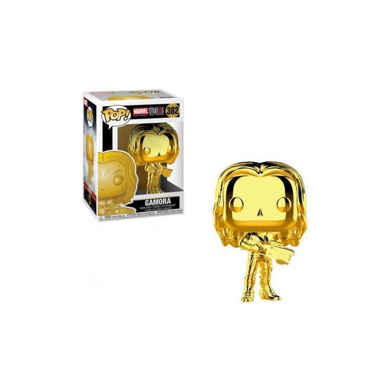 POP MARVEL 382 GAMORA CHROME - Figurines POP au prix de 17,95€