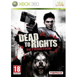 X360 DEAD TO RIGHTS : RETRIBUTION - Jeux Xbox 360 au prix de 6,95 €