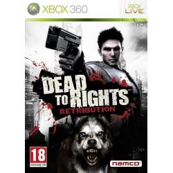X360 DEAD TO RIGHTS : RETRIBUTION - Jeux Xbox 360 au prix de 6,95€