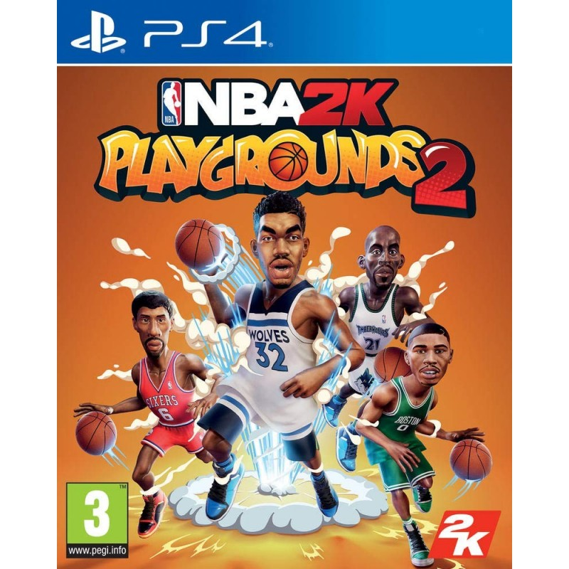 PS4 NBA 2K PLAYGROUNDS 2 OCC - Jeux PS4 au prix de 9,95€