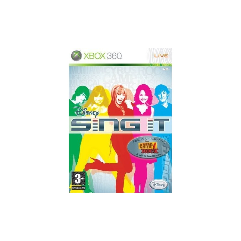 X360 DISNEY SING IT - Jeux Xbox 360 au prix de 6,95€