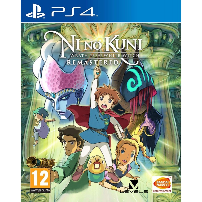 PS4 NI NO KUNI WRATH OF THE WHITE WITCH REMASTERED - Jeux PS4 au prix de 49,95 €