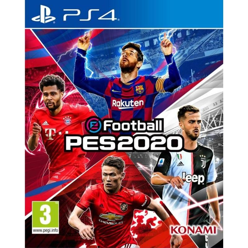 PS4 PES 2020 - Jeux PS4 au prix de 34,95€