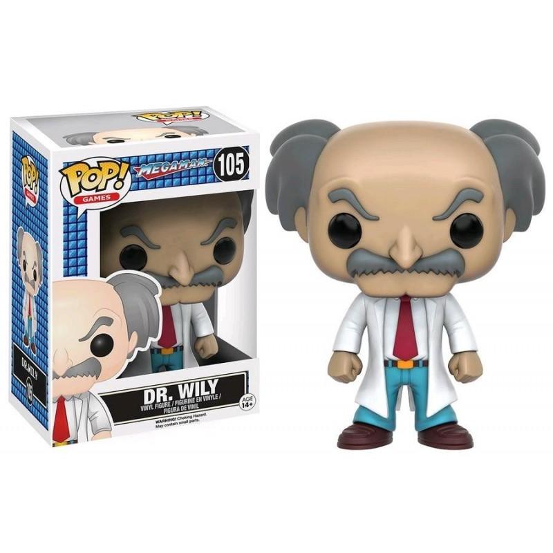 POP MEGAMAN 105 DR WILY - Figurines POP au prix de 14,95€