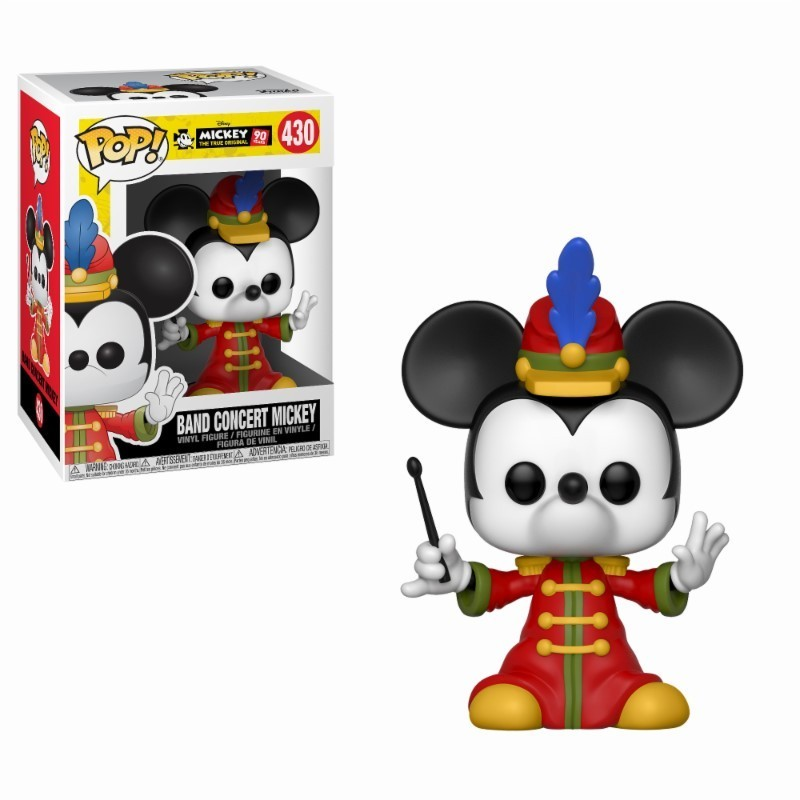 POP DISNEY 430 MICKEY BAND CONCERT - Figurines POP au prix de 14,95 €