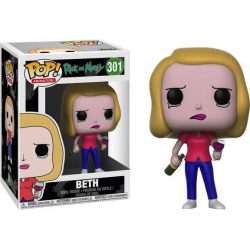 POP RICK AND MORTY 301 BETH - Figurines POP au prix de 14,95€
