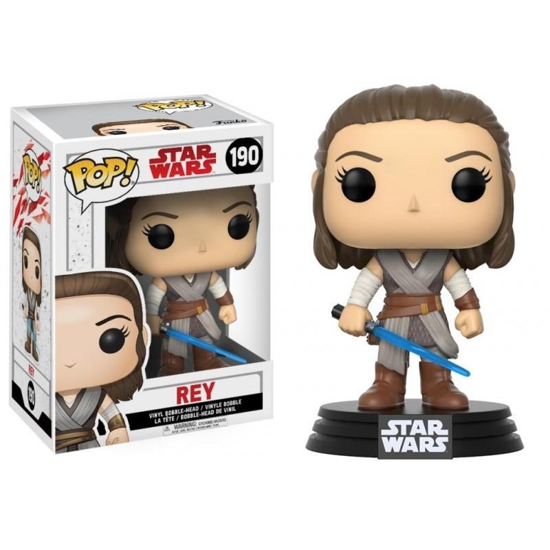 POP STAR WARS 190 REY - Figurines POP au prix de 14,95€