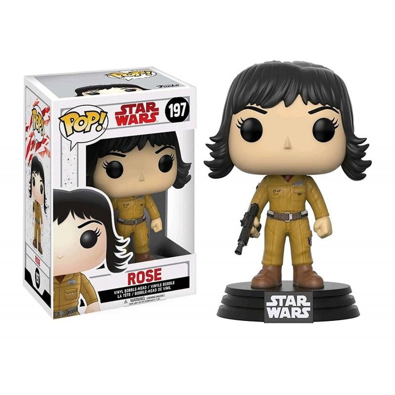 POP STAR WARS 197 ROSE - Figurines POP au prix de 14,95€