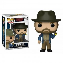 POP STRANGER THINGS 720 HOPPER AVEC LAMPE TORCHE - Figurines POP au prix de 14,95 €
