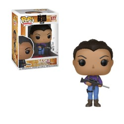 POP THE WALKING DEAD 577 SASHA - Figurines POP au prix de 14,95 €