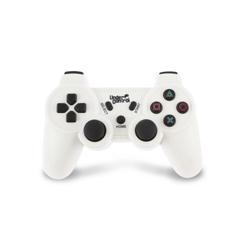 MANETTE BLUETOOTH PS3 UNDERCONTROL BLANC - Accessoires PS3 au prix de 24,95€