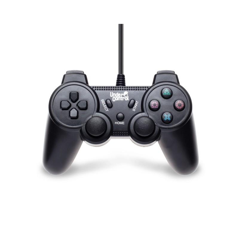 MANETTE FILAIRE PS3 UNDERCONTROL NOIR - Accessoires PS3 au prix de 14,95€