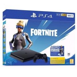 CONSOLE PS4 SLIM 500 GO FORTNITE - Consoles PS4 au prix de 299,95 €