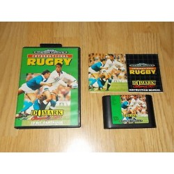 MD INTERNATIONAL RUGBY - Jeux Mega Drive au prix de 9,95 €