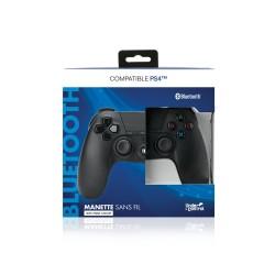 MANETTE BLUETOOTH PS4 NOIR UNDERCONTROL - Accessoires PS4 au prix de 34,95€