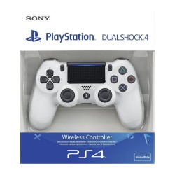MANETTE DUALSHOCK PS4 BLANC - Accessoires PS4 au prix de 59,95€