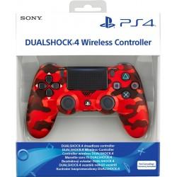 MANETTE DUALSHOCK PS4 CAMOUFLAGE ROUGE - Accessoires PS4 au prix de 64,95€