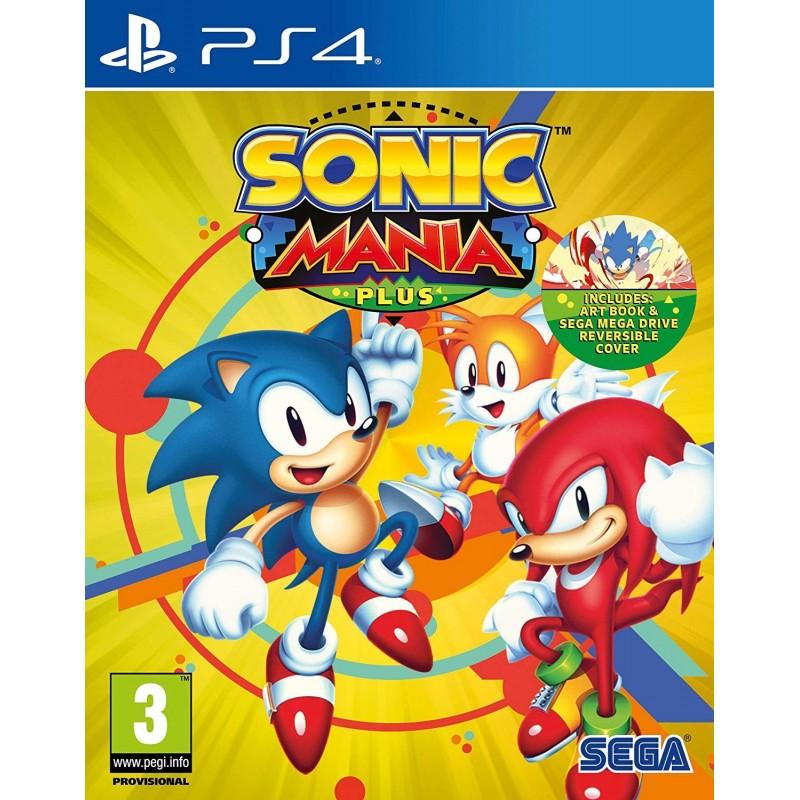 PS4 SONIC MANIA PLUS OCC - Jeux PS4 au prix de 19,95€