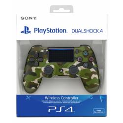 MANETTE DUALSHOCK PS4 CAMOUFLAGE VERT - Accessoires PS4 au prix de 64,95€
