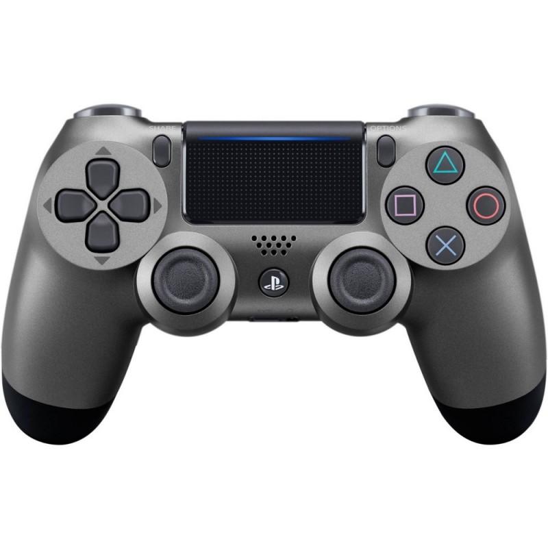 MANETTE DUALSHOCK PS4 STEEL BLACK - Accessoires PS4 au prix de 64,95€