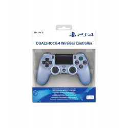 MANETTE DUALSHOCK PS4 TITANIUM BLUE - Accessoires PS4 au prix de 64,95€