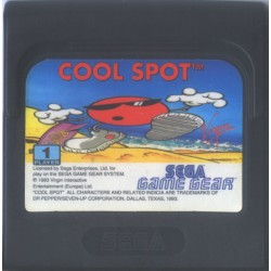 GG COOL SPOT (LOOSE) - Game Gear au prix de 4,95€