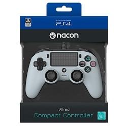MANETTE FILAIRE PS4 NACON GRIS - Accessoires PS4 au prix de 39,95€