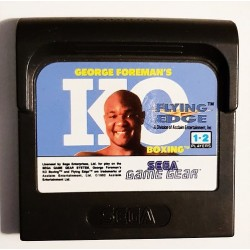GG GEORGE FOREMAN KO BOXING (LOOSE) - Game Gear au prix de 1,95€