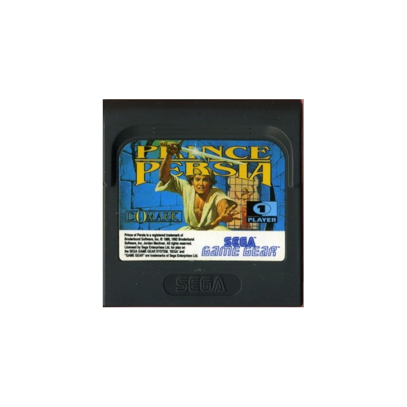 GG PRINCE OF PERSIA (LOOSE) - Game Gear au prix de 4,95€
