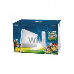 CONSOLE WII BLANCHE INAZUMA ELEVEN STRIKERS SERIE LIMITEE - Consoles Wii au prix de 49,95€