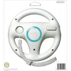 VOLANT WII OFFICIEL BLANC - Accessoires Wii au prix de 4,95€
