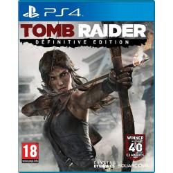 PS4 TOMB RAIDER DEFINITIVE EDITION OCC - Jeux PS4 au prix de 14,95€