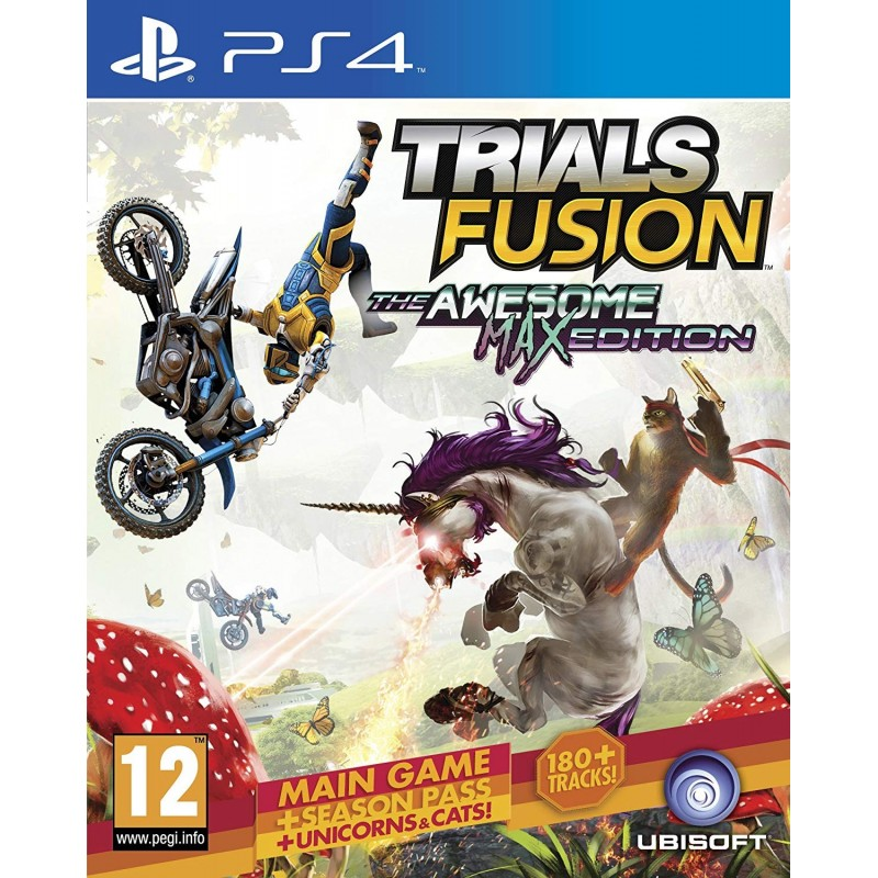 PS4 TRIALS FUSION THE AWESOME MAX EDITION OCC - Jeux PS4 au prix de 19,95€