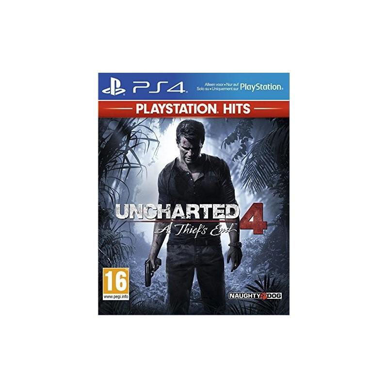 PS4 UNCHARTED 4 A THIEFS END HITS - Jeux PS4 au prix de 19,95€