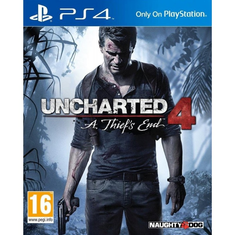 PS4 UNCHARTED 4 A THIEFS END OCC - Jeux PS4 au prix de 14,95 €