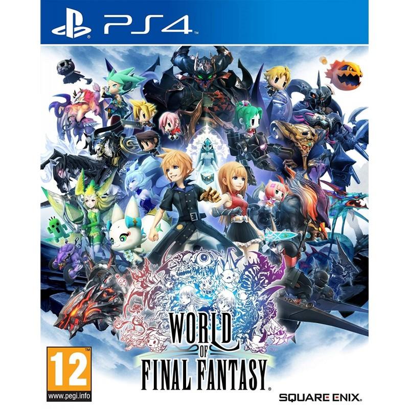 PS4 WORLD OF FINAL FANTASY OCC - Jeux PS4 au prix de 14,95€